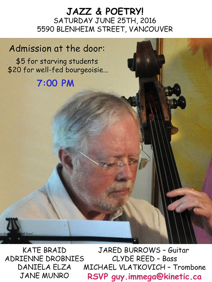Jazz and Poetry Night